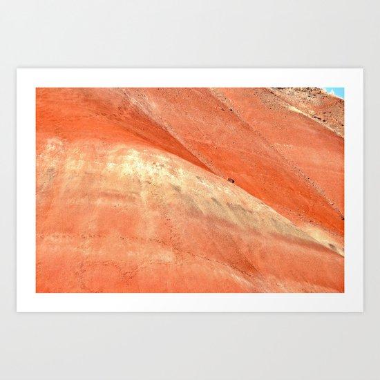 PAINTED HILLS - OREGON SUNSET Art Print