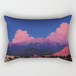 Sunset at Garden of the Gods Rectangular Pillow