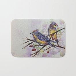 Love Birds 2 | oiseaux amoureux 2 Bath Mat