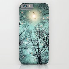 Nature Blazes Before Your Eyes (Mint Embers) iPhone 6 Slim Case