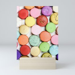 Delicious French Macaroons Mini Art Print