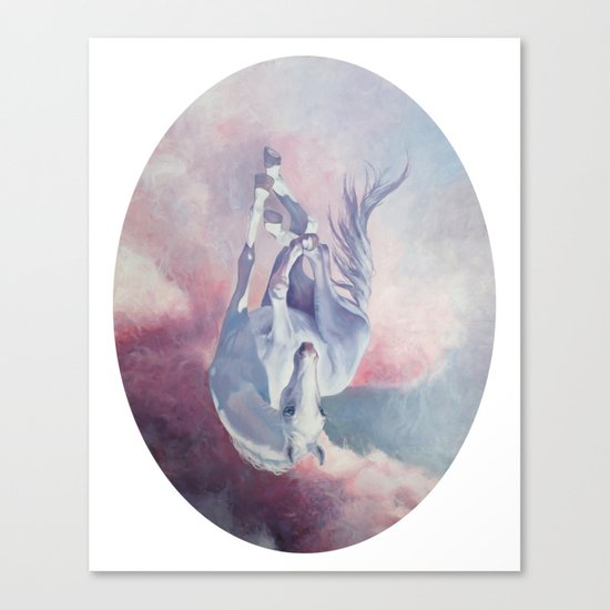 Falling Cloud Canvas Print