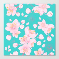 sakura blossoms Canvas Print