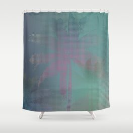 Palm Stories Shower Curtain