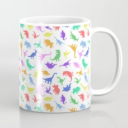 Fun Dinosaur Pattern Coffee Mug
