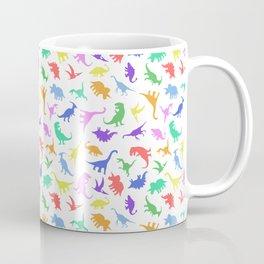 Fun Dinosaur Pattern Coffee Mug