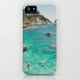 Swimmers, Amalfi iPhone Case