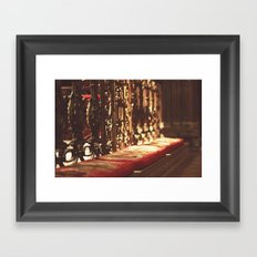 Manchester cathedral I Framed Art Print