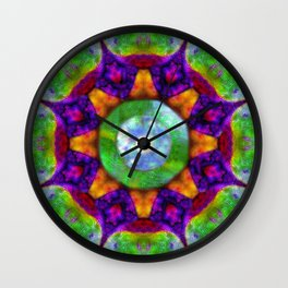 Cosmic plane Wall Clock