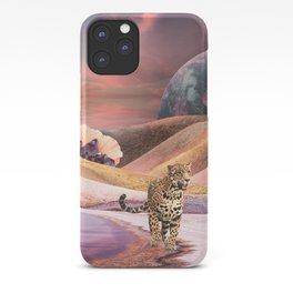 Jaguar Moons with Rosie Sayers iPhone Case