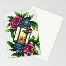 A Moth to the Flame Stationery Cards