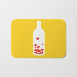 Message in a bottle Bath Mat
