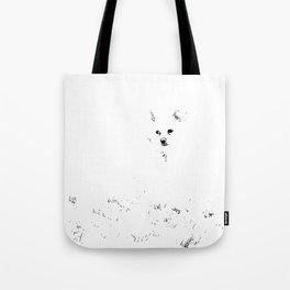 Bare Minimum Dog Tote Bag