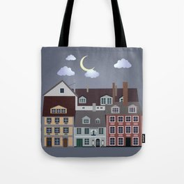 Riga Old Town Tote Bag