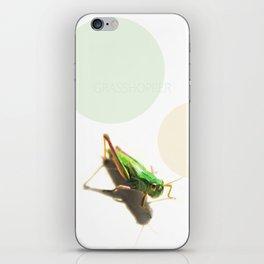 Insect Portrait | Grasshopper iPhone Skin