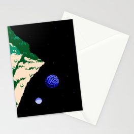 Twin Moons World Stationery Cards