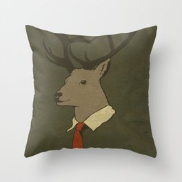 Young Professional  Throw Pillow