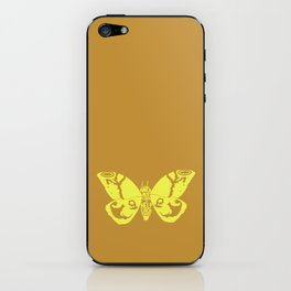 We Must Learn to Help Each Other -Mothra vs. Godzilla iPhone Skin