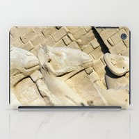 guardians iPad Cases featuring Temple Guardians by Brian Raggatt