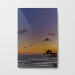 New Moon Over Ruby's Metal Print