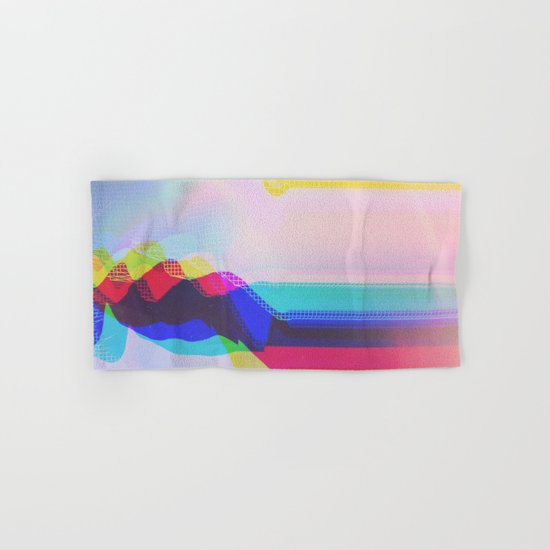 Glitch 27 Hand & Bath Towel