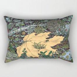 ian leaf Rectangular Pillow