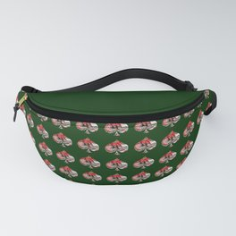 Spade Playing Card Shape - Las Vegas Icons Fanny Pack