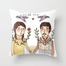 Always Be Honest Throw Pillow