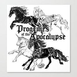 Cavaliers de l'Apocalypse Canvas Print