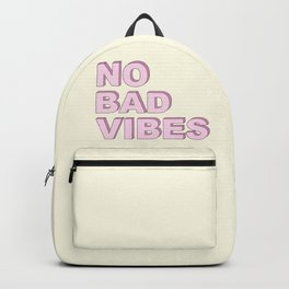 No bad vibes Backpack