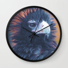 Winter Eagle Wall Clock