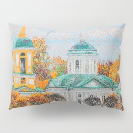 The Temple of the All-Merciful Saviour in the Park Kuskovo Pillow Sham