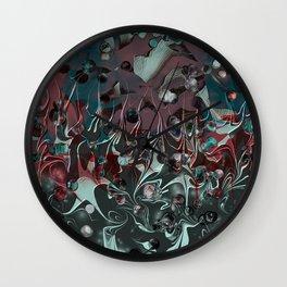 Darkened Joy Wall Clock