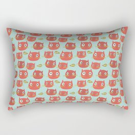 Pattern Project #32 / WTF Cats Rectangular Pillow
