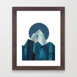 Olympus Rising Framed Art Print