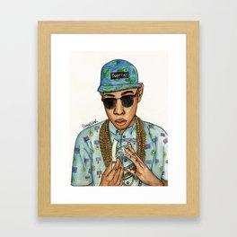 Tyler, The Creator Framed Art Print