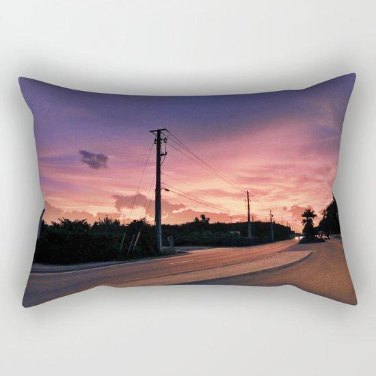 Miami Sunrise Rectangular Pillow