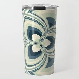 Spiral Rose Pattern E 1/4 Travel Mug