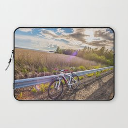 Mountain Bike in the Sun Laptop Sleeve