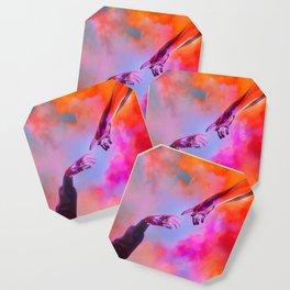 La Création d'Adam - Dorian Legret x AEFORIA Coaster