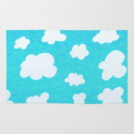 Happy Little Clouds Rug