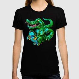 Green roller T-shirt