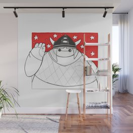 What if Baymax was Vicky the Viking Wall Mural