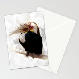 Tropical bird Stationery Cards