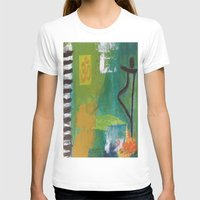 yoga T-shirts featuring YOGA by Prema Designs