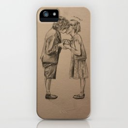 Love me if you dare iPhone Case
