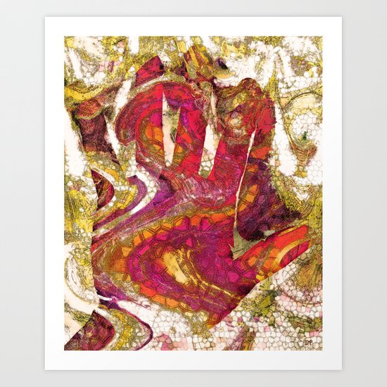 In the Palm of My Hand Art Print
