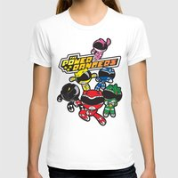 power rangers T-shirts featuring Power Rangers  by Dik Low