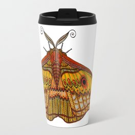 Tangled Moth Travel Mug
