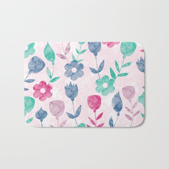 Lovely Pattern Bath Mat